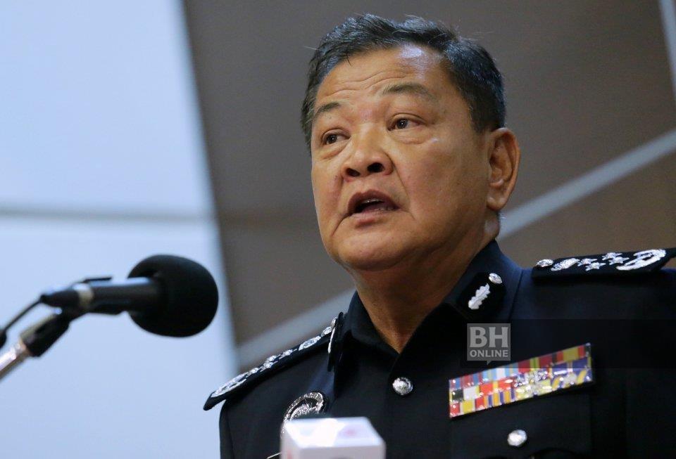 Ketua Polis Negara Tan Sri Abdul Hamid Bador. - Foto fail NSTP/ Mohd Yusni Ariffin