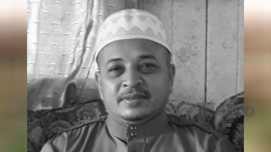 ALLAHYARHAM Rosle Abdul Aziz. FOTO ihsan pembaca