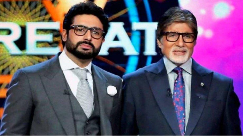 AMITABH Bachchan dan Abhishek Bachchan. FOTO Agensi.